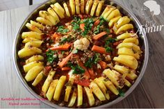In der türkischen Küche wird sehr gerne Gerichte in ein rundes Blech im Ofen…