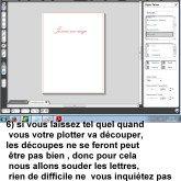 tutoriel écrire sur le logiciel silhouette 4
