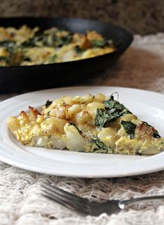 Roasted Potato and Kale Frittata--This sounds great, but, as one comment suggests, adding cheese would be a big plus. A bit of cheddar, feta and/or parmesan would go a long way! The writer also suggests goat cheese, which I think would lend a delicious creaminess to the dish.