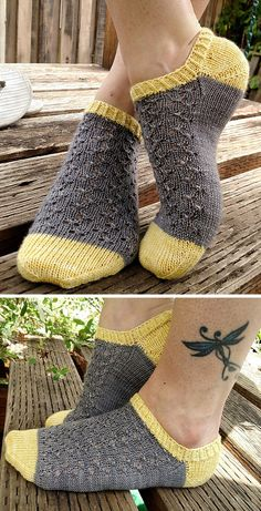 Knitted Ankle Socks with Lace - Free Pattern Free Knitting Pattern Always wanted to discover ways to knit, nonetheless uncertain where to start? That Definite Beginn. Knitting Blogs, Easy Knitting, Knitting For Beginners, Knitting Socks, Knitting Patterns Free, Knit Patterns, Free Pattern, Knitting Needles, Knitting Projects