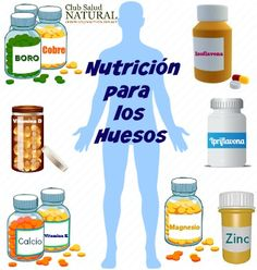 Nutrientes Imprescindibles para los Huesos - Club Salud Natural