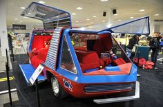 George Barris Custom Cars | ... shows fans what superheroes, race stars and car legends are made of