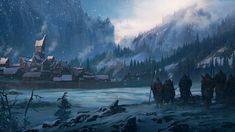 Pin by Natural Newt on Northern Empire Fantasy landscape Fantasy concept art Fantasy city