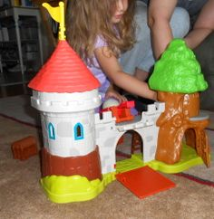 Mike the Knight Glendragon Castle Play Set for Children #sponsored review