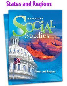 4th Grade Regions-Harcourt Social Studies