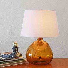 🍂True to the new season this rich colour looks beautiful any setting. This base has several unique features: made from it is fitted with a cotton braided flex and a cork stopper at the top for the bulb holder. Tap to shop Glass Lamp Base, Table Lamp Base, Lamp Bases, Table Lamps, Interior Styling, Interior Decorating, Interior Design, Recycled Glass, Fall Season