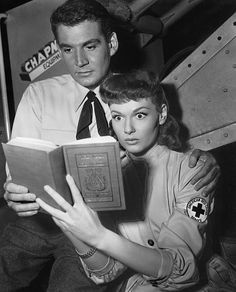 The War of the Worlds (1953), with Sylvia Van Buren who teaches library science courses.  But she is no match for an alien invasion....
