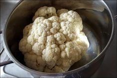 Lowcarb karfiolu bomba - predvarené karfiol