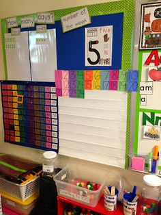 Chalk Talk: A Kindergarten Blog: Daily Math Routines Board.  There are tons of great ideas here for calendar routines!