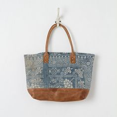 Batik Linen Tote in Sale SHOP Jewelry+Accessories at Terrain ($50-100) - Svpply