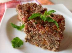 Quibe de forno de Quinoa (sem glúten e sem lactose).