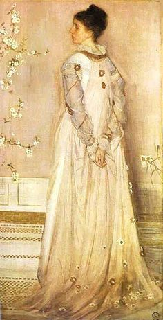 It's About Time: Music in White by James Mc Neill Whistler (1834-1903)