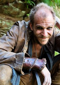 Floki! in Vikings (Gustaf Skarsgård)