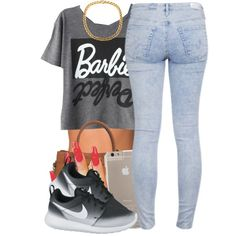 June 6 2k15 by polyvoreitems5 on Polyvore featuring polyvore, fashion, style, AG Adriano Goldschmied, NIKE, Michael Kors, NLY Accessories and Case-Mate