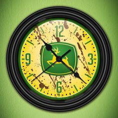 JOHN DEERE Lawn & Garden Tractor Decorative Wall by GoodTiming, $18.50