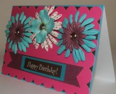 Beautiful Women's Birthday Card by JustBeccuz on Etsy