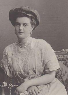 Grand Duchess Maria c 1910