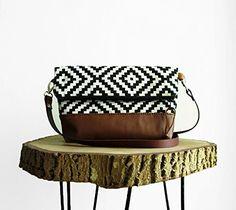 Tribal print crossbody Bag, Geometry, Black and White, Cl... https://www.amazon.com/dp/B01NAHP7W7/ref=cm_sw_r_pi_dp_x_i9m1AbSG76XAJ