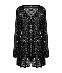 Meaneor Women's Long Sleeve Lace Crochet Bolero Hollow Sheer Knit Cardigan Top *** CONTINUE @ http://www.passion-4fashion.com/clothing/meaneor-womens-long-sleeve-lace-crochet-bolero-hollow-sheer-knit-cardigan-top/?c=0627