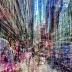 Lexington Avenue Walkscape by Benjamin Lowy on artnet Auctions