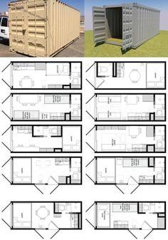 convertir un contenedor en una casa - Sea Container Home Designs