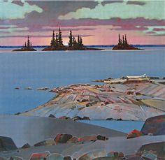 Robert Genn Watercolor Landscape, Landscape Art, Landscape Paintings, Landscapes, Landscape Sketch, Canadian Painters, Canadian Artists, Islands In The Stream, Outdoor Paint
