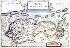 Frisia 1660 Aertsen Friesland en Groningen