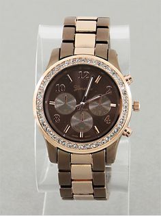 Rosegold & Brown Lovely Watch from P.S. I Love You More Boutique. shop online at: psiloveyoumore.storenvy.com