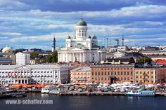 Helsinki, Finland. An impressive city with many different facets.