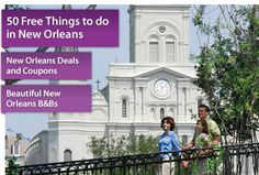 50 Free Things to do in New Orleans