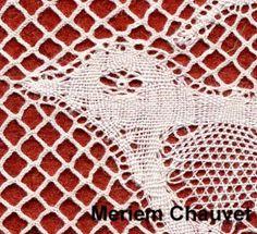 Val detail Bobbin Lace, Detail, Bobbin Lacemaking