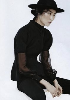 Ji Hye Park byEmma TempestFor Vogue Russia July 2013