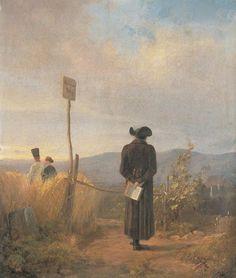 The Forbidden Way, Carl Spitzweg
