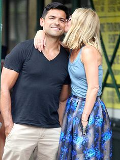 MARK & KELLY photo | Kelly Ripa, Mark Consuelos