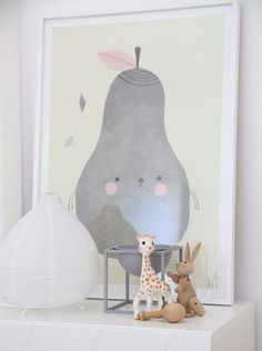 mommo design: PEAR LOVE - Pirum Parum Poster