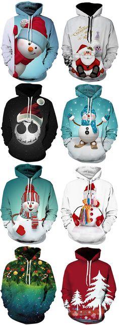 50% OFF Christmas Men Hoodies,Free Shipping Worldwide.