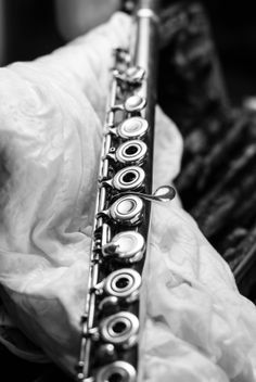 My flute...#Black and White, #Flute, #Music, #Musicians