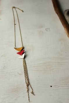 Cute bohemian necklace