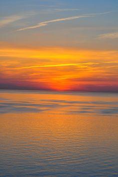 Sunset - St. Joseph, Michigan - going here in sept!