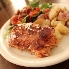 My son would LOVE this!! Yummy!! The Best Grilled Cedar Plank Salmon With Raspberry Chipotle Glaze