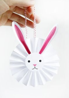Printable Bunny Rosettes   Oh Happy Day!