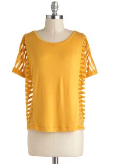 Jack by BB Dakota Rays of Our Lives Top   Mod Retro Vintage Short Sleeve Shirts   ModCloth.com