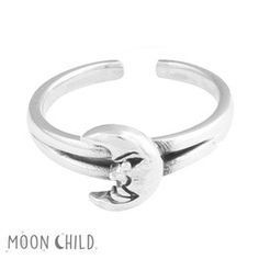 Image of Mr Moon midi ring (Sterling Silver)