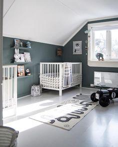 Kidsroom, My Dream Home, Cribs, Toddler Bed, Barn, Building, Interior, Furniture, Instagram