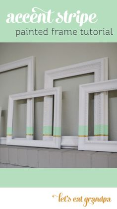 Spice up some boring black frames with this fun tutorial!