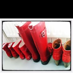 loving red boots
