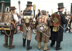 Du steampunk ?                                                                                                                                                                                 Plus