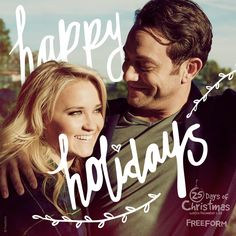 May your holidays be merry & bright. As you're stuffing your face with candy canes, casseroles, and cake. 25 Days Of Christmas, Merry Christmas, Movie List, I Movie, Young & Hungry, Emily Osment, Last Man Standing, All I Ever Wanted, Merry And Bright