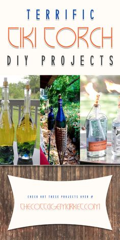 Terrific Tiki Torch DIY Projects - The Cottage Market