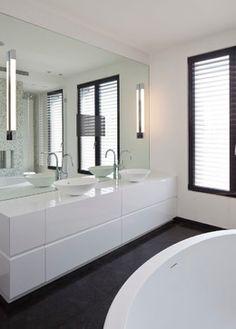 Like black and white  LUXURY VILLA IN ISRAEL - modern - Bathroom - Other Metro - Nurit Kacherginski